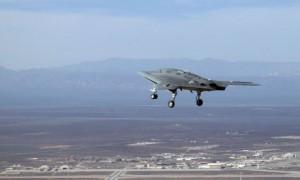 US drone at Edwards air force base