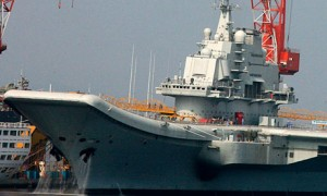 China's first aircraft carrier, the Soviet-era Liaoning, entered service last year