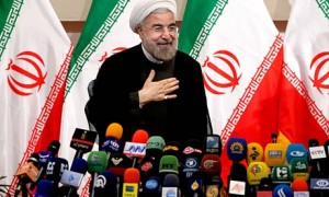 Hassan Rouhani, Iran's president-elect